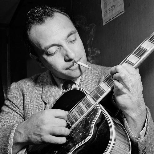 Easily Download Django Reinhardt Printable PDF piano music notes, guitar tabs for  Real Book - Melody, Lyrics & Chords - C Instruments. Transpose or transcribe this score in no time - Learn how to play song progression.