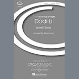 Download or print Doreen Rao Dodi Li Sheet Music Printable PDF -page score for Festival / arranged TB SKU: 74181.