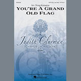 Download or print Doug Katsaros You're A Grand Old Flag Sheet Music Printable PDF -page score for American / arranged SATB SKU: 160146.