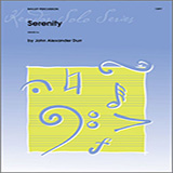 Download or print Durr Serenity Sheet Music Printable PDF -page score for Unclassified / arranged Percussion SKU: 125020.