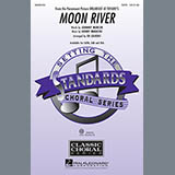 Download or print Henry Mancini Moon River (arr. Ed Lojeski) Sheet Music Printable PDF -page score for Light Concert / arranged SAB SKU: 70898.