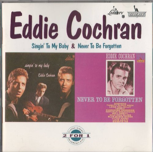 Easily Download Eddie Cochran Printable PDF piano music notes, guitar tabs for  Melody Line, Lyrics & Chords. Transpose or transcribe this score in no time - Learn how to play song progression.