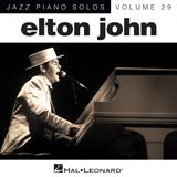 Download or print Elton John Daniel Sheet Music Printable PDF -page score for Rock / arranged Piano SKU: 151630.