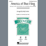 Download or print Emily Crocker America, Of Thee I Sing Sheet Music Printable PDF -page score for American / arranged 3-Part Mixed SKU: 97868.