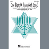 Download or print Evan Ramos One Light (A Hanukkah Song) Sheet Music Printable PDF -page score for Chanukah / arranged SATB SKU: 185951.