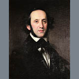 Download or print Felix Mendelssohn Song Without Words In F-Sharp Minor