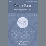 Download or print Franklin Gallo Pretty Saro Sheet Music Printable PDF -page score for Festival / arranged SATB SKU: 174984.