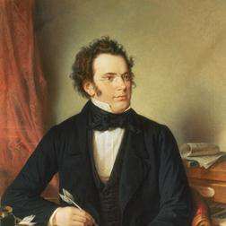 Download or print Franz Schubert Symphony No.5 in B Flat Major - 2nd Movement: Andante con moto Sheet Music Printable PDF -page score for Classical / arranged Melody Line & Chords SKU: 14161.