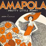 Download or print Joseph M. Lacalle Amapola (Pretty Little Poppy) Sheet Music Printable PDF -page score for Folk / arranged Accordion SKU: 158005.
