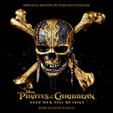 Download or print Geoff Zanelli Kill The Filthy Pirate, I'll Wait Sheet Music Printable PDF -page score for Film and TV / arranged Piano SKU: 185969.