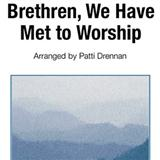 Download or print George Atkins Brethren, We Have Met To Worship Sheet Music Printable PDF -page score for Hymn / arranged Piano SKU: 82241.