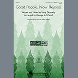 Download or print Mary Donnelly Good People, Now Rejoice! (arr. George L.O. Strid) Sheet Music Printable PDF -page score for Concert / arranged 3-Part Mixed SKU: 97831.