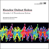 Download or print Gerald Felker Kendor Debut Solos - Trombone - Piano Accompaniment Sheet Music Printable PDF -page score for Unclassified / arranged Brass Solo SKU: 124991.