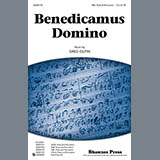 Download or print Greg Gilpin Benedicamus Domino Sheet Music Printable PDF -page score for Concert / arranged Choral TBB SKU: 93009.