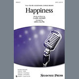 Download or print Greg Gilpin Happiness Sheet Music Printable PDF -page score for Light Concert / arranged SATB SKU: 157489.