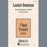 Download or print Marc-Antoine Charpentier Laudate Dominum Sheet Music Printable PDF -page score for World / arranged Choral TTB SKU: 160069.