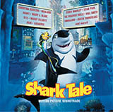 Download or print Hans Zimmer Some Of My Best Friends Are Sharks (from Shark Tale) Sheet Music Printable PDF -page score for Film and TV / arranged Piano SKU: 111307.