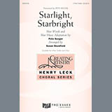 Download or print Henry Leck Starlight, Starbright Sheet Music Printable PDF -page score for Concert / arranged 3-Part Treble SKU: 178998.