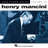 Download or print Henry Mancini A Cool Shade Of Blue Sheet Music Printable PDF -page score for Jazz / arranged Piano SKU: 162679.