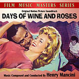 Download or print Henry Mancini Days Of Wine And Roses Sheet Music Printable PDF -page score for Jazz / arranged Piano SKU: 98807.