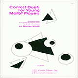 Download or print Houllif Contest Duets For The Young Mallet Players Sheet Music Printable PDF -page score for Unclassified / arranged Percussion Ensemble SKU: 124899.