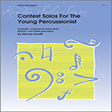 Download or print Houllif Contest Solos For The Young Percussionist Sheet Music Printable PDF -page score for Unclassified / arranged Percussion SKU: 124862.