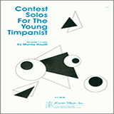 Download or print Houllif Contest Solos For The Young Timpanist Sheet Music Printable PDF -page score for Unclassified / arranged Percussion SKU: 124784.