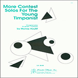 Download or print Houllif More Contest Solos For The Young Timpanist Sheet Music Printable PDF -page score for Unclassified / arranged Percussion SKU: 124791.