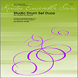 Download or print Houllif Studio Drum Set Duos (For A Student And Teacher) Sheet Music Printable PDF -page score for Unclassified / arranged Percussion Ensemble SKU: 124762.