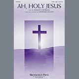 Download or print Howard Helvey Ah, Holy Jesus Sheet Music Printable PDF -page score for Hymn / arranged SATB SKU: 156858.