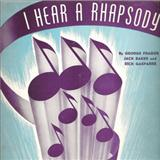Download or print Jack Baker I Hear A Rhapsody Sheet Music Printable PDF -page score for Jazz / arranged Piano SKU: 152656.