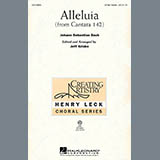 Download or print J.S. Bach Alleluia From Cantata 142 (arr. Jeff Kriske) Sheet Music Printable PDF -page score for Concert / arranged 3-Part Treble SKU: 97365.