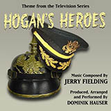 Download or print Jerry Fielding Hogan's Heroes March Sheet Music Printable PDF -page score for Film and TV / arranged Piano SKU: 93061.