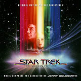 Download or print Jerry Goldsmith Star Trek(R) The Motion Picture Sheet Music Printable PDF -page score for Pop / arranged Piano SKU: 16473.