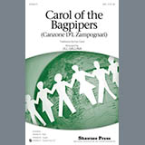 Download or print Jill Gallina Carol Of The Bagpipers (Canzone D'l Zampognari) Sheet Music Printable PDF -page score for Sacred / arranged SAB SKU: 158979.