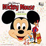 Download or print Jimmie Dodd Mickey Mouse March Sheet Music Printable PDF -page score for Children / arranged GTRENS SKU: 166640.
