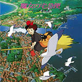 Download or print Joe Hisaishi Kiki's Delivery Service (On A Clear Day…) Sheet Music Printable PDF -page score for Film and TV / arranged Piano SKU: 107126.