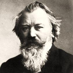 Download or print Johannes Brahms Symphony No. 3, Third Movement Theme Sheet Music Printable PDF -page score for Classical / arranged Piano SKU: 54550.