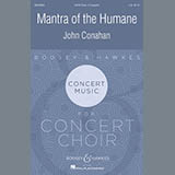 Download or print John Conahan Mantra Of The Humane Sheet Music Printable PDF -page score for Festival / arranged SATB SKU: 179023.
