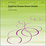 Download or print John H. Beck Festival Snare Drum Duets Sheet Music Printable PDF -page score for Unclassified / arranged Percussion Ensemble SKU: 124879.