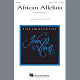 Download or print John Leavitt African Alleluia Sheet Music Printable PDF -page score for Festival / arranged TTBB SKU: 177441.