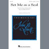 Download or print John Leavitt Set Me As A Seal Sheet Music Printable PDF -page score for Religious / arranged Choral SKU: 179665.