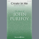 Download or print John Purifoy Create In Me Sheet Music Printable PDF -page score for Hymn / arranged SATB SKU: 156473.