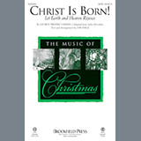 Download or print Jon Paige Christ Is Born! (Let Heaven And Earth Rejoice) Sheet Music Printable PDF -page score for Baroque / arranged SATB SKU: 186473.