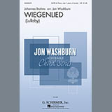 Download or print Johannes Brahms Wiegenlied (arr. Jon Washburn) Sheet Music Printable PDF -page score for Classical / arranged Choral SSATB SKU: 155007.