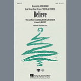 Download or print Josh Groban Believe (from The Polar Express) (arr. Mac Huff) Sheet Music Printable PDF -page score for Pop / arranged 2-Part Choir SKU: 30354.