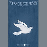 Download or print Karissa Dennis A Prayer For Peace Sheet Music Printable PDF -page score for Sacred / arranged Choral SKU: 158969.