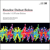 Download or print Kempton Kendor Debut Solos - Flute Sheet Music Printable PDF -page score for Unclassified / arranged Woodwind Solo SKU: 124983.