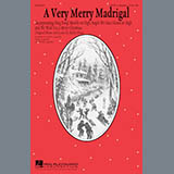 Download or print Kirby Shaw A Very Merry Madrigal Sheet Music Printable PDF -page score for Winter / arranged TTBB SKU: 177453.