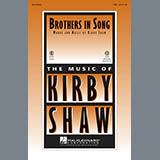 Download or print Kirby Shaw Brothers In Song Sheet Music Printable PDF -page score for Concert / arranged Choral TBB SKU: 154411.